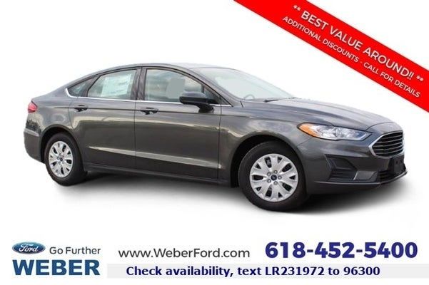 2020 Ford Fusion S In Granite City Mo St Louis Ford Fusion Weber Ford Granite City
